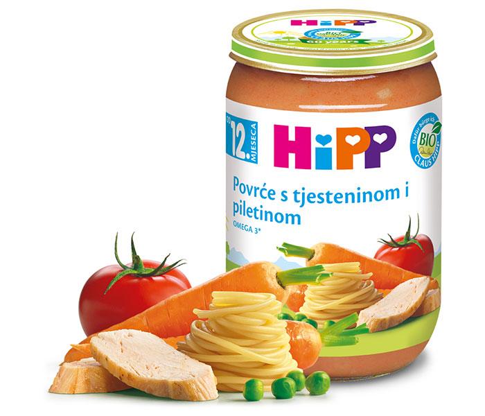 Kašica mesna-piletina povrće/tjestenina 220g