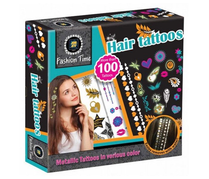 Igracka Vrijeme za modu-tetovaze za kosu