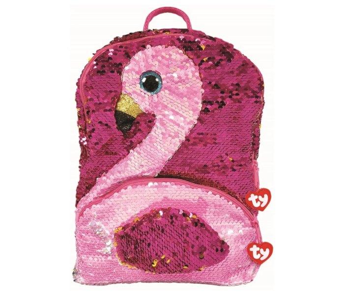 Plis Ty flamingo