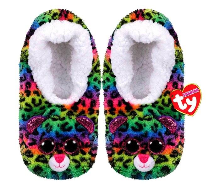 Plis Ty papuce leopard multikolor vel.S (28-31)