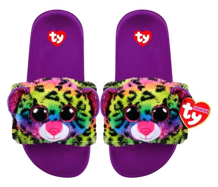 Plis Ty papuce leopard  multicolor vel.S (28-31)