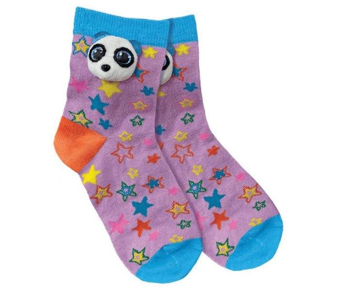 Ty Pliš  čarape panda, clip