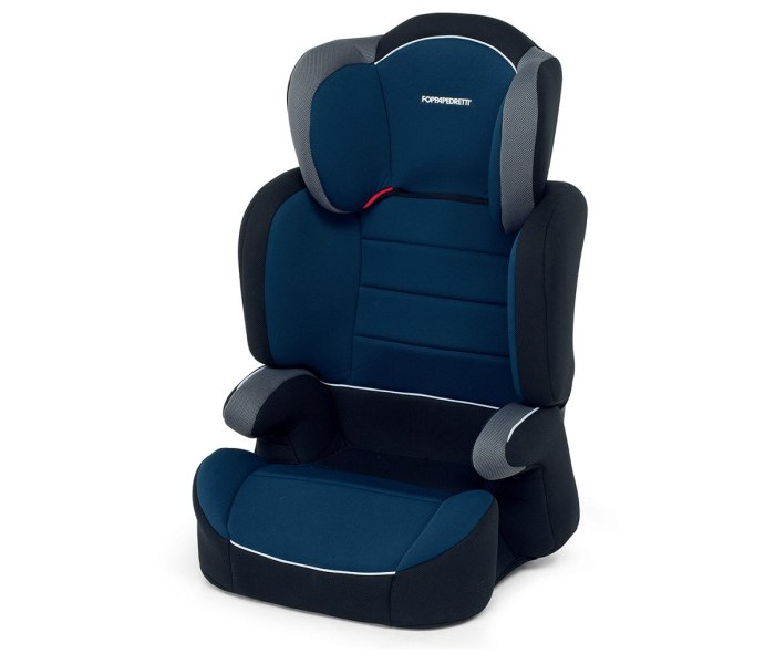 Sjediste za auto Foppapedretti clever plava