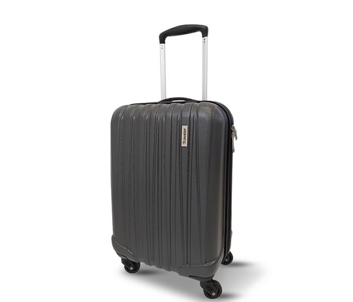 Kofer Traveller Dark veličina grey S