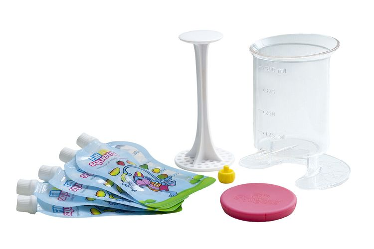 Osnovni paket, posuda i kesice za djecju hranu