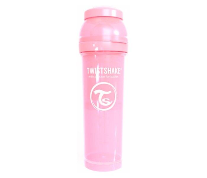 Flašica Twistshake Anti-Colic 330ml pastelna roza