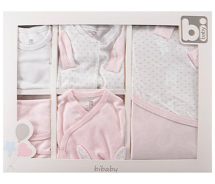 Set za novorodence BiBaby mali zec rozi 62