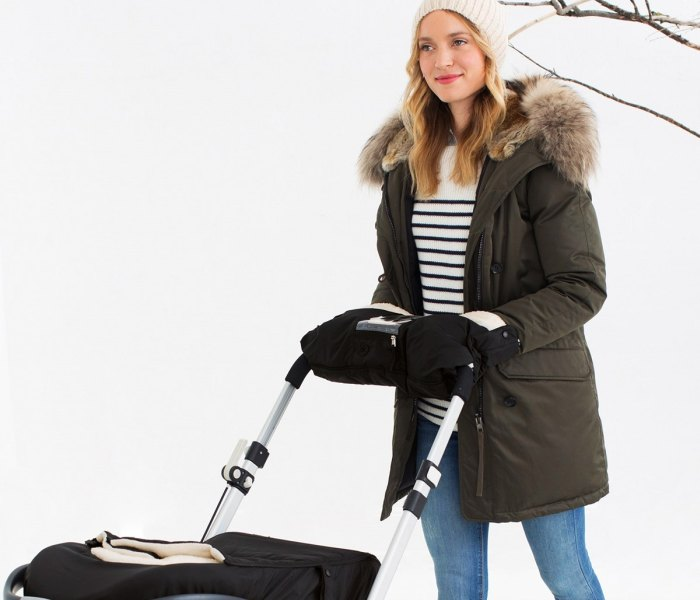 Zimske rukavice za kolica Skip Hop crne