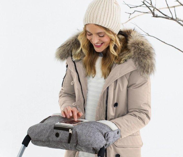 Zimske rukavice za kolica Skip Hop sive