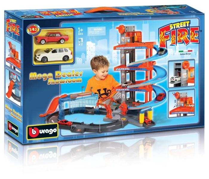 Garaza mega dealer 1:43 +2 auta
