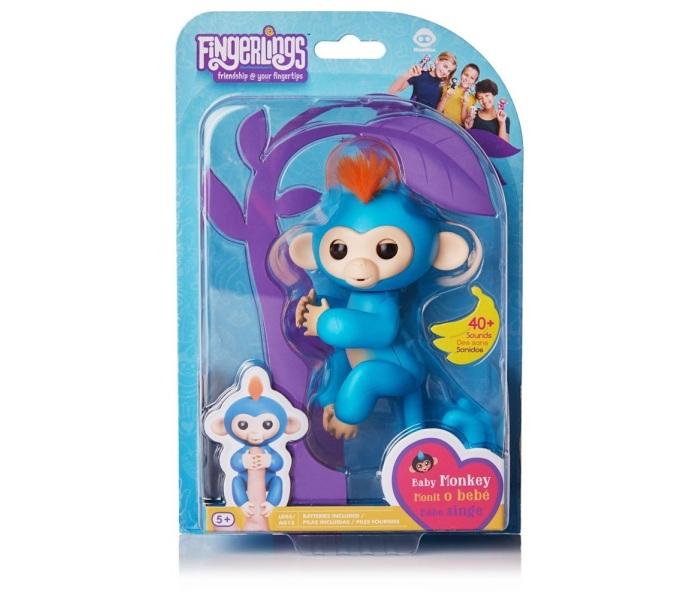 Fingerlings majmuncic asst plavi