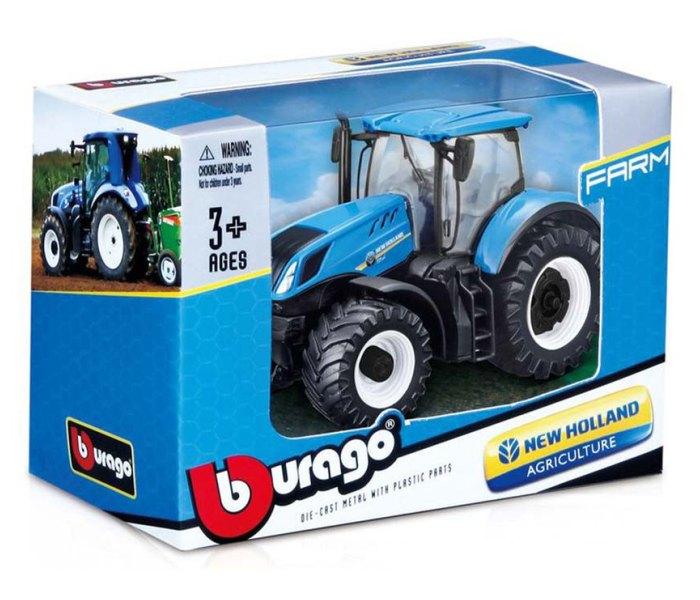 Igračka Burago, traktor 10cm.