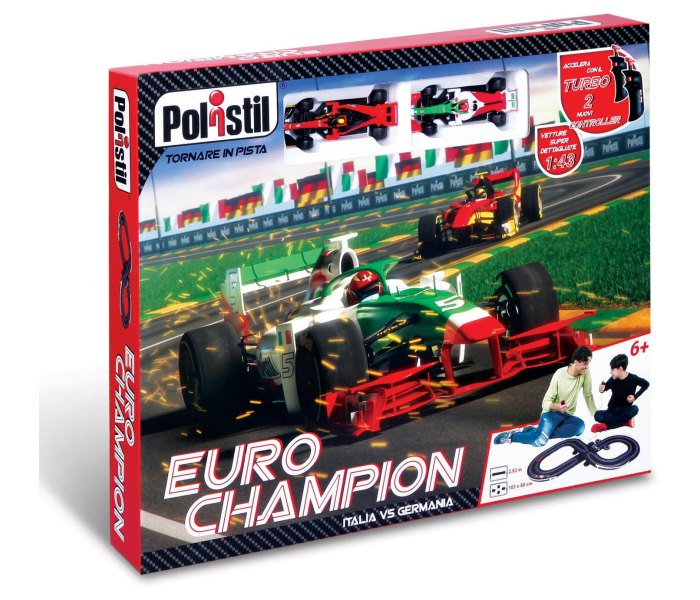 Igracka Burago euro champion f1 track set