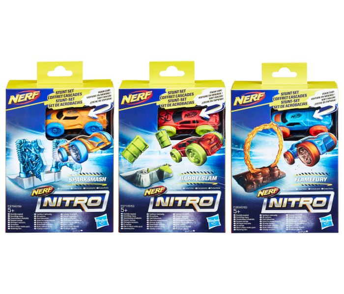 Igracka Nerf nitro soft racer stunt set