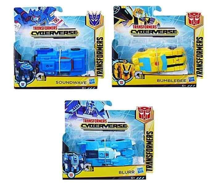 Igracka Transformers cyberverse 1 step