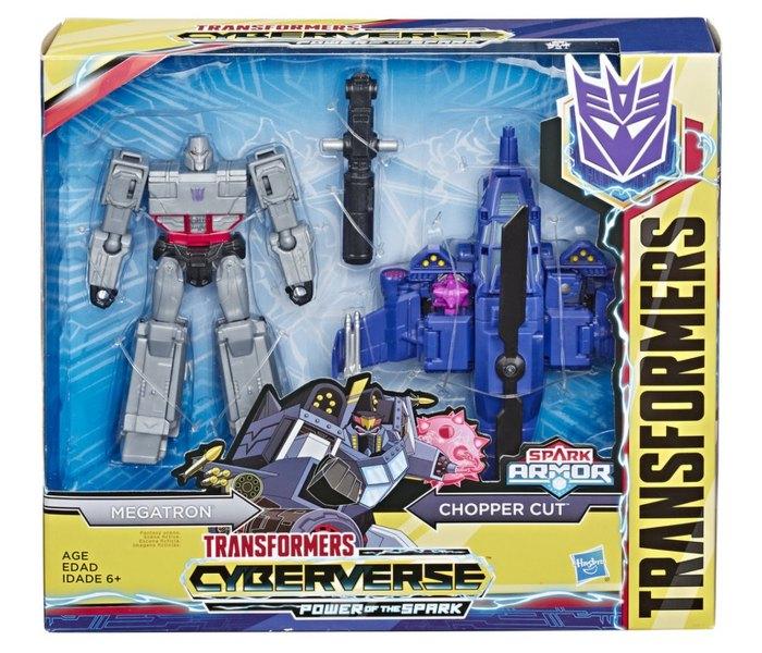 Igracka Transformers cyber spark armor elite