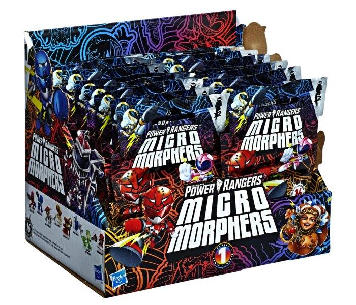 Igracka Transformers Power rangers kesica