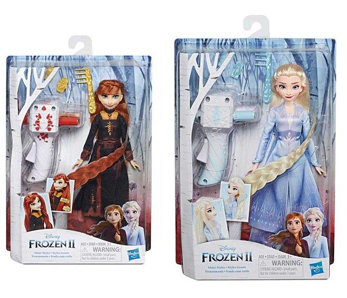 Igracka Frozen 2 lutka sister styles