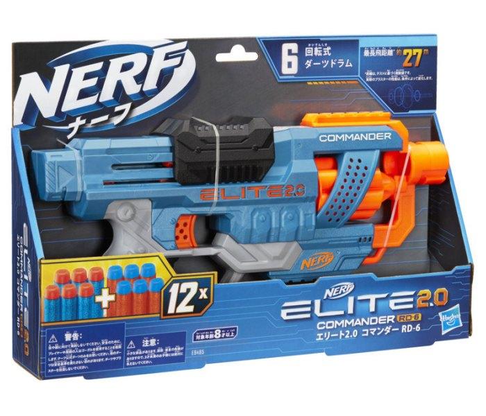 Igračka Nerf elite 2 commander rc 6