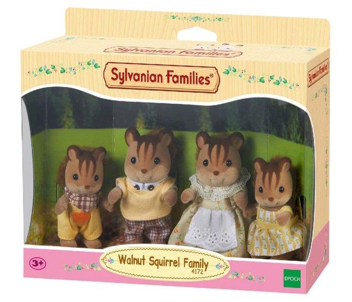 Igračka Sylvanian, porodica lješnik vjeverica