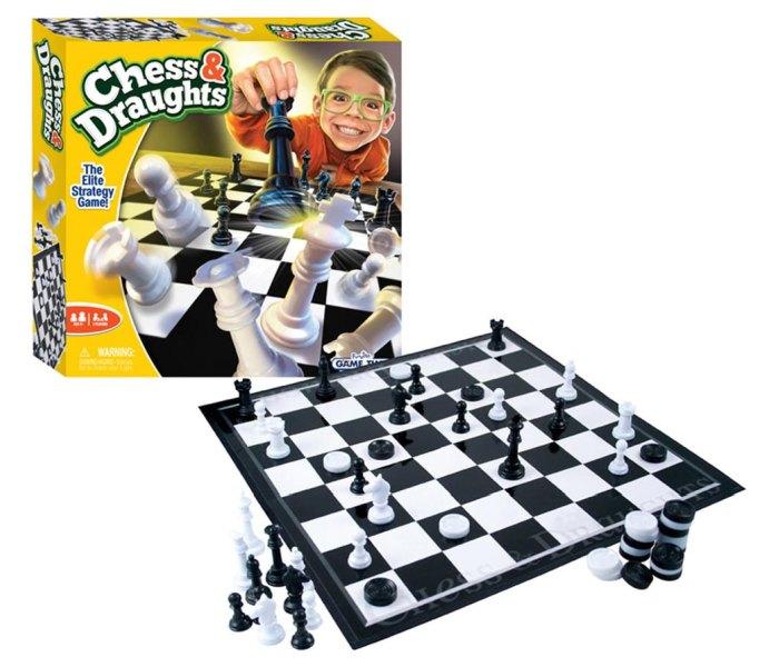 Igračka Funville društvena igra, chess draughts