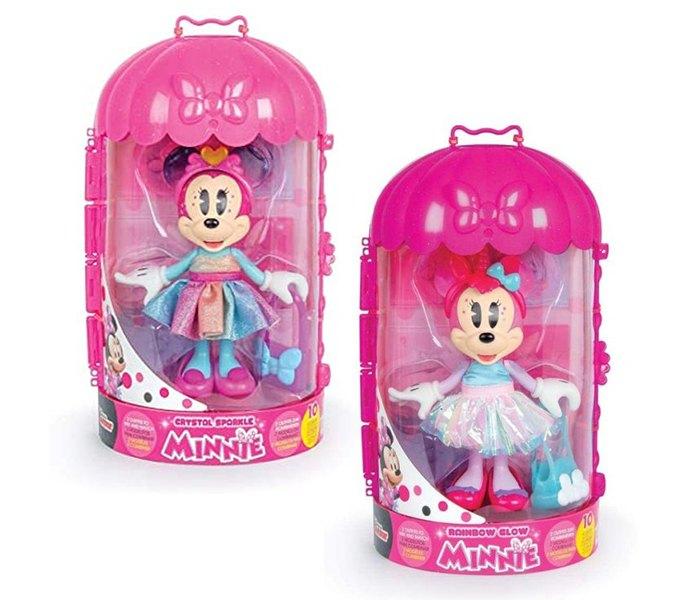 Igračka Minnie modna lutka rainbow
