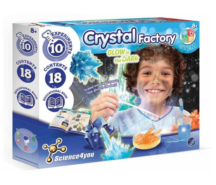 Igracka S4Y fabrika kristala