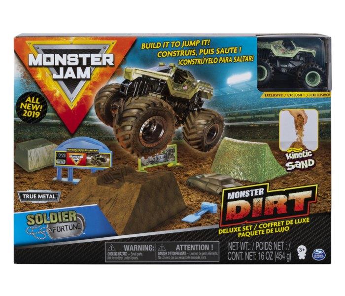 Igracka Monster jam monster dirt deluxe set