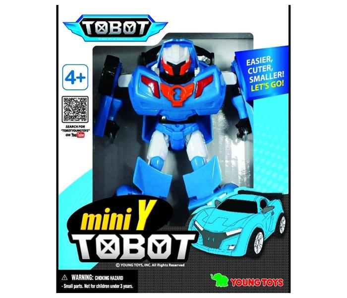 Igracka Tobot auto robot plavi