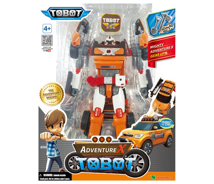 Igracka Tobot auto robot adventure x