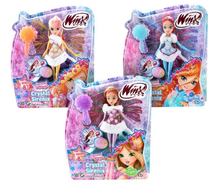 Igračka Winx crystal sirenix lutka