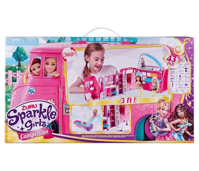 Igračka Sparkle girlz kamper i lutka set
