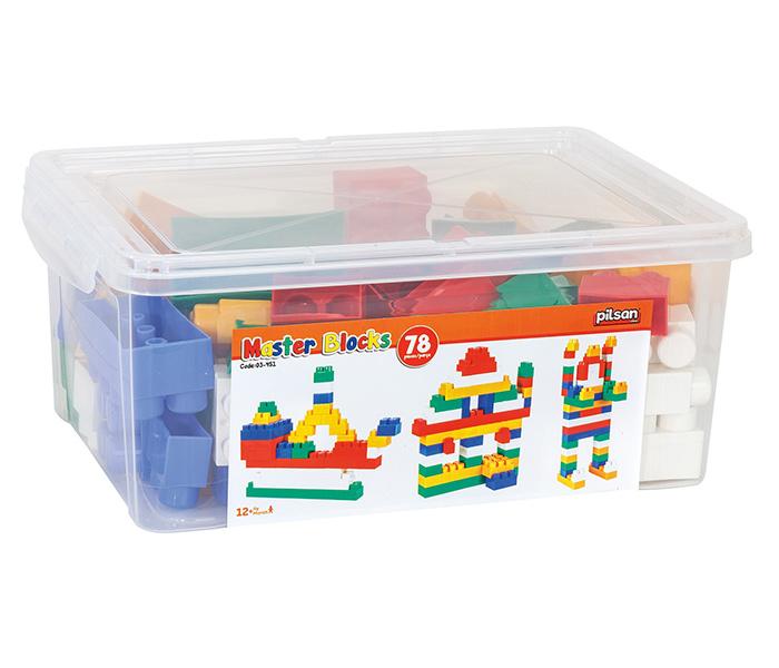 Kutija sa kockama Pilsan 78 komada