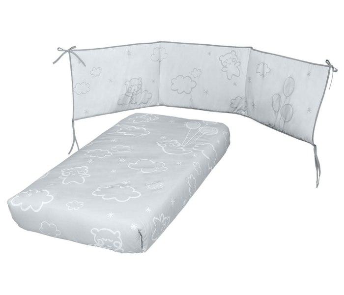 Posteljina  Dolce Luce grey + jastuk