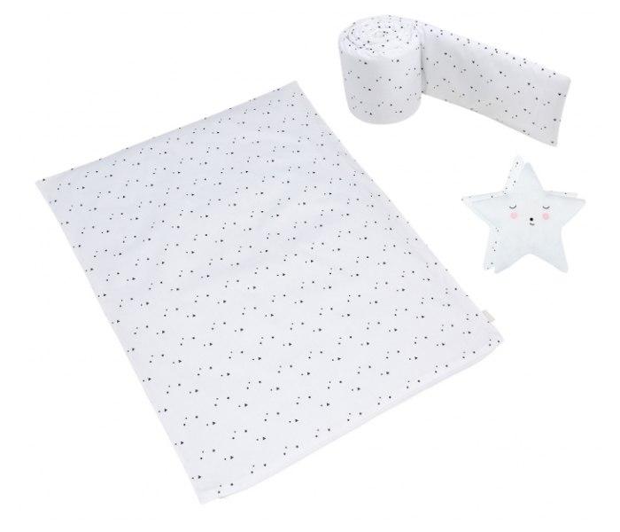 Posteljina za kolijevku Micuna Claire + jastuk