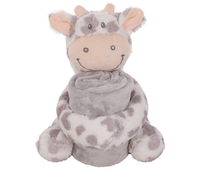 Ćebe Kikaboo + igračka krava