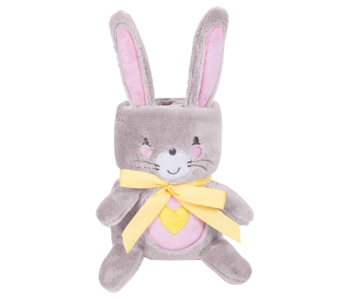Ćebe baby sa vezom 3D Pink Bunny