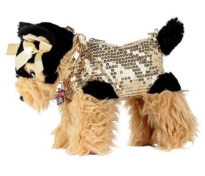 Igracka Doggie Star plisana torbica Jorki DS-18
