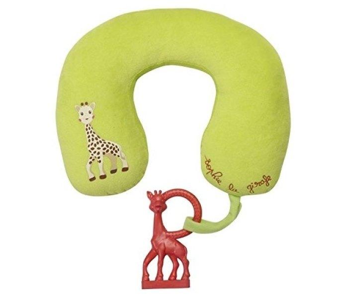 Sophie la girafe jastuce za glavu sa glodalicom