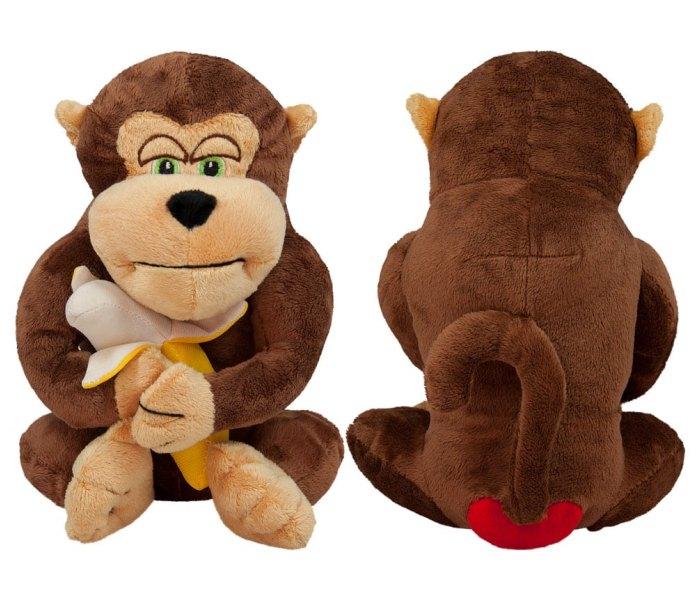 Plišana igračka Amek majmun sa bananom 25 cm