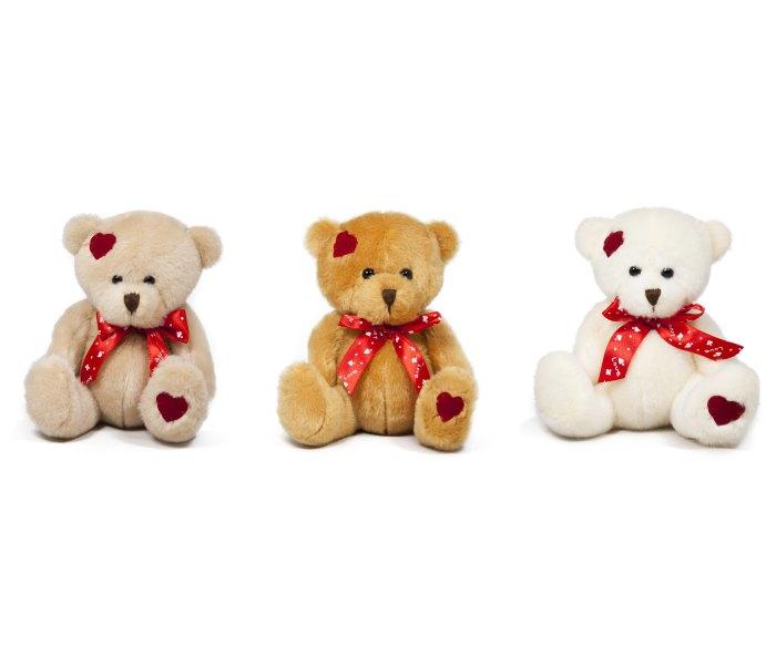 Plišana igračka Amek medvjed sa srcem 15 cm