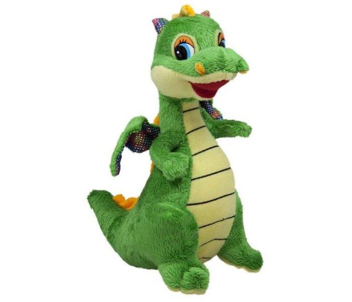 Plišana igračka Amek zeleni dinosaurus 21 cm