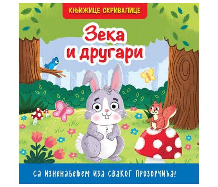 Knjižice skrivalice - Zeka i drugari
