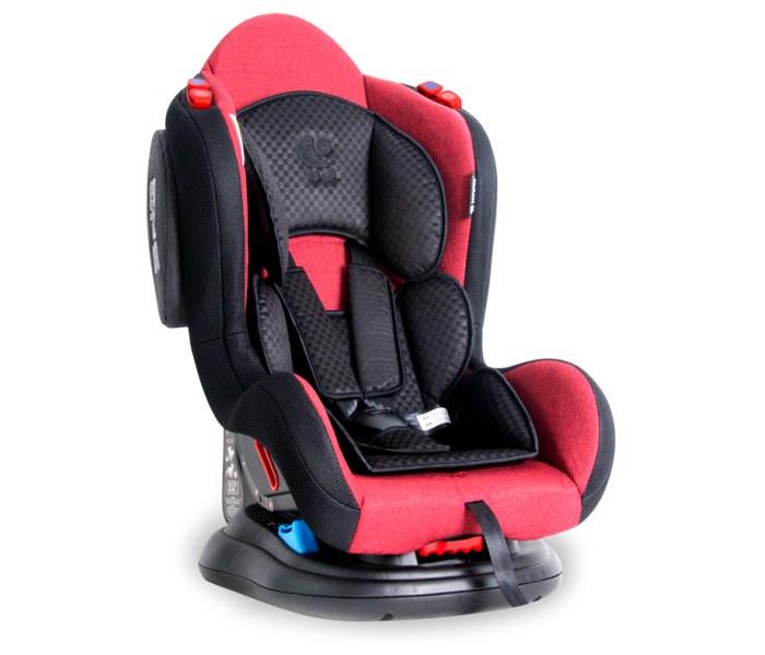 Sjediste za auto jupiter 0-25kg red & black