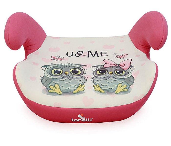 Sjedište za auto teddy 15-36kg pink owls