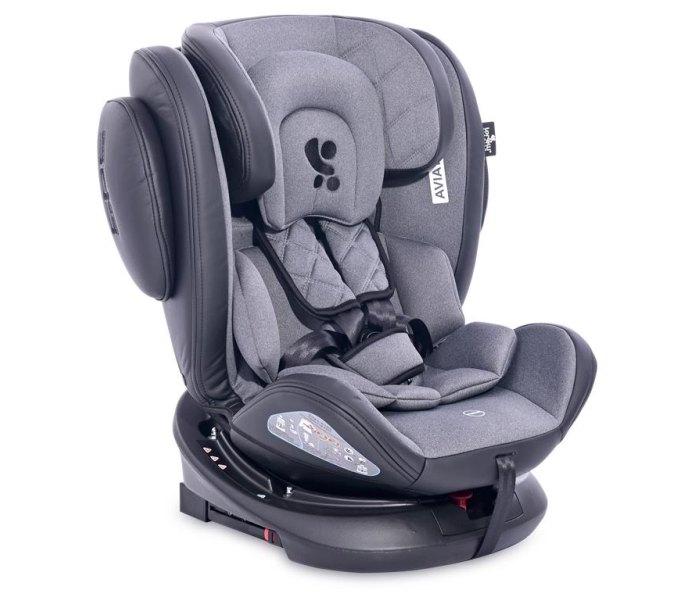 Sjedište za auto Aviator isofix 0-36kg crni+tamno sivi