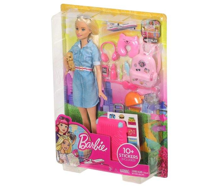 Igračka Barbie na putovanju