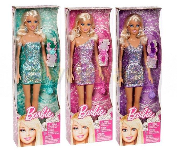 Igracka Barbi u sjajnoj haljini 2011