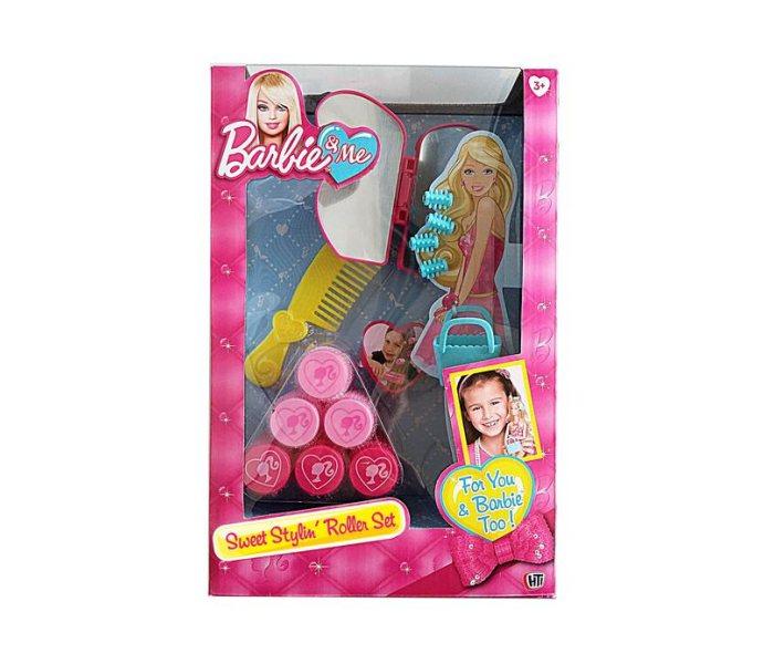 Barbie set sa viklerima
