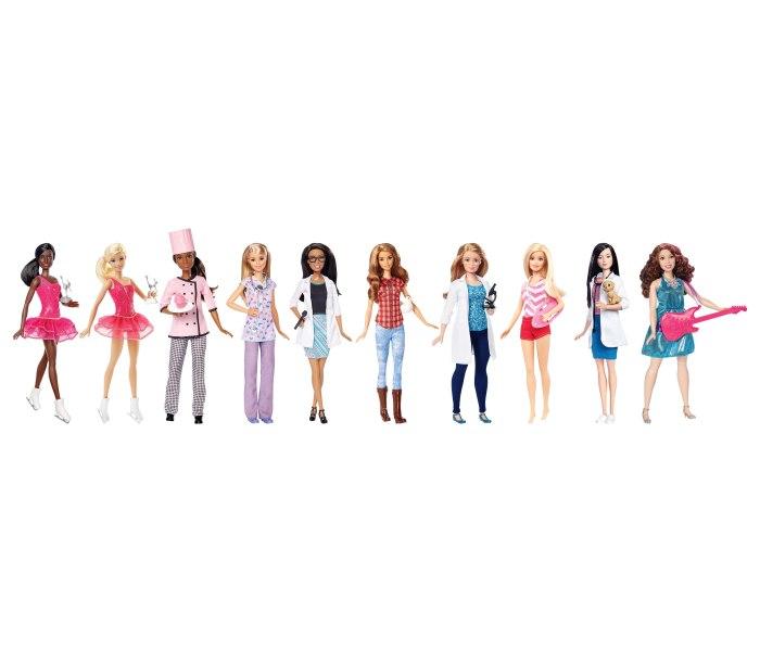Barbie budi sto zelis